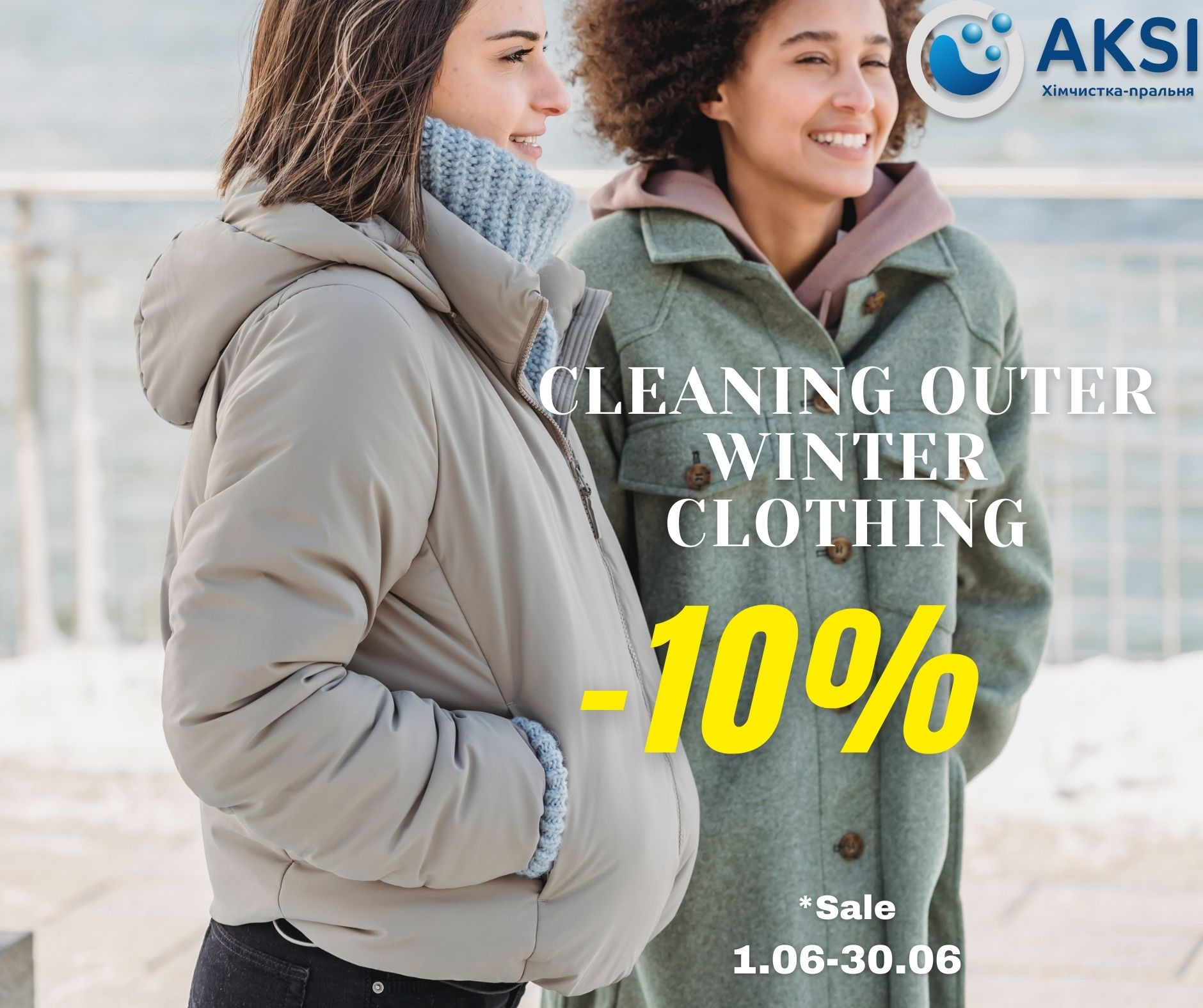 special offer dry cleaning aksi -10%
